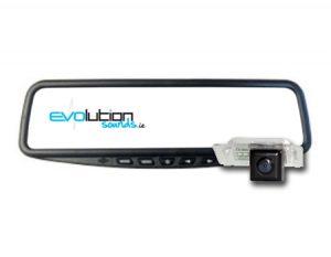 """Rear Integrated Reversing Cameras & 4.3"""" Mirror Monitor"""