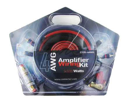 2.CT35-4AWG Amp Wiring Kit - Evolution Sounds on