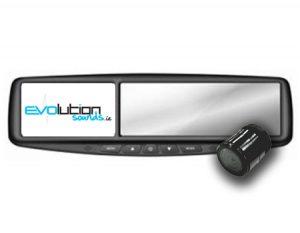 """Rear Universal Reversing Cameras & 4.3"""" Mirror Monitor"""
