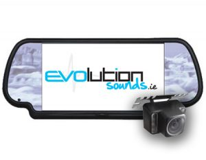 "Rear Universal Reversing Camera & 7"" Mirror Monitor"